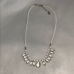 Claire's bedazzled statement necklace